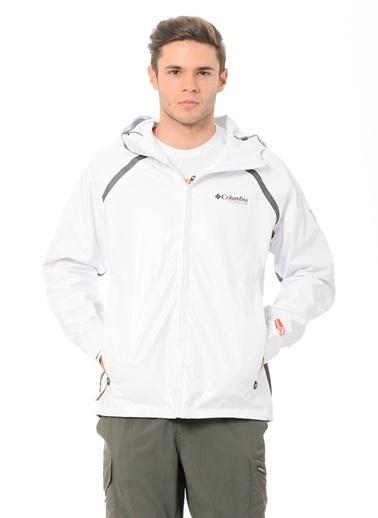 Columbia Outdry® Yağmurluk Beyaz